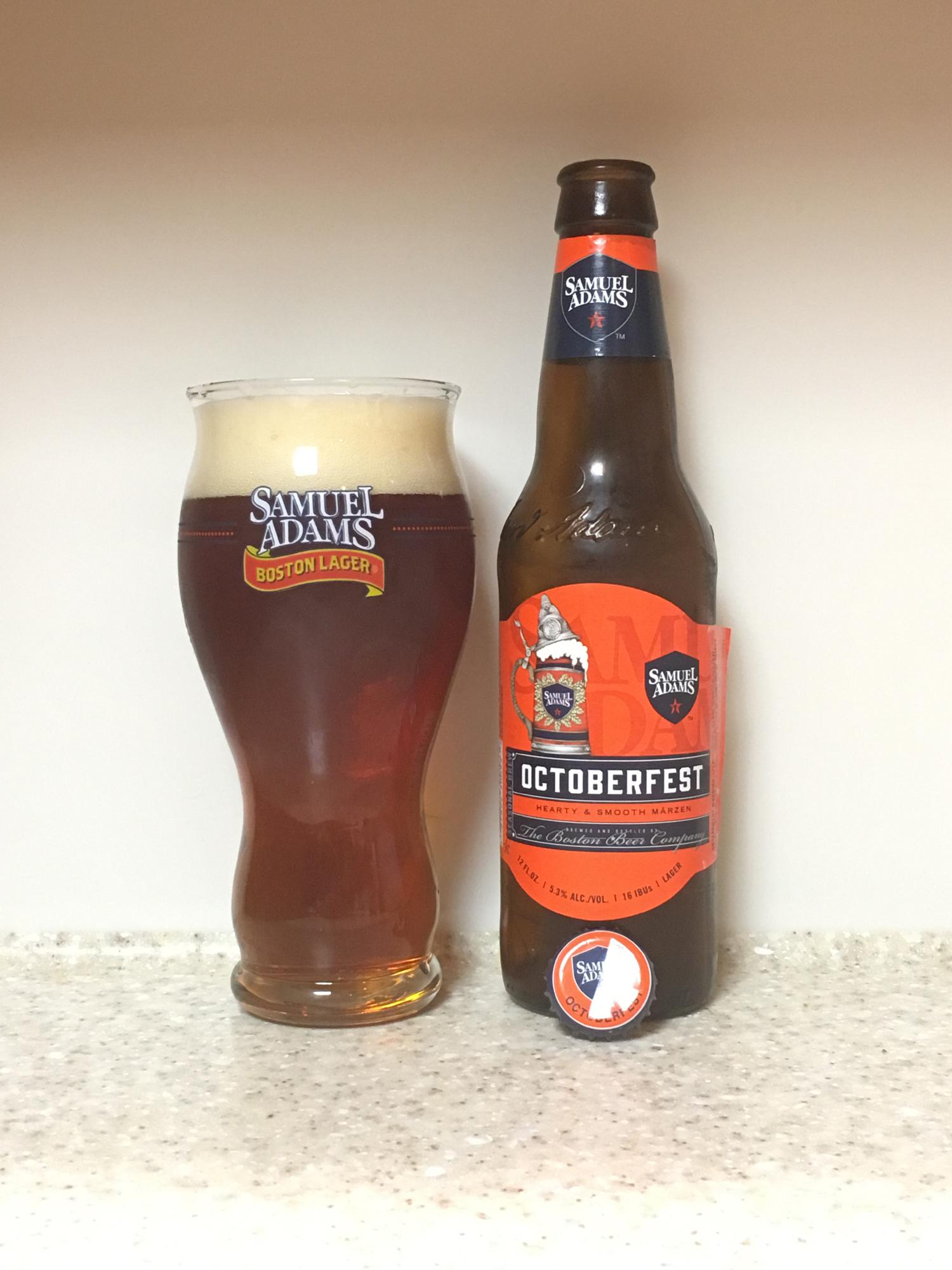 Drink It Down Octoberfest By Samuel Adams Boston Beer