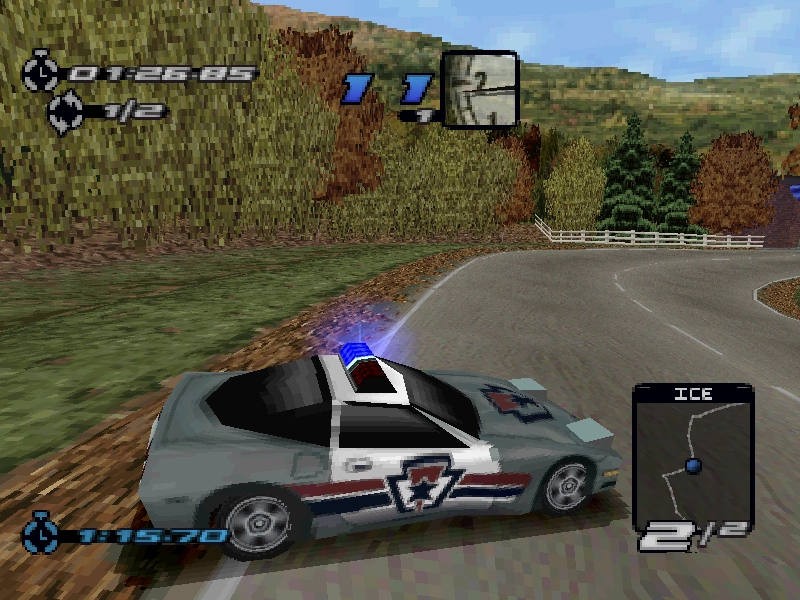 Turn To Channel 3 Ps1 S Need For Speed Iii Hot Pursuit