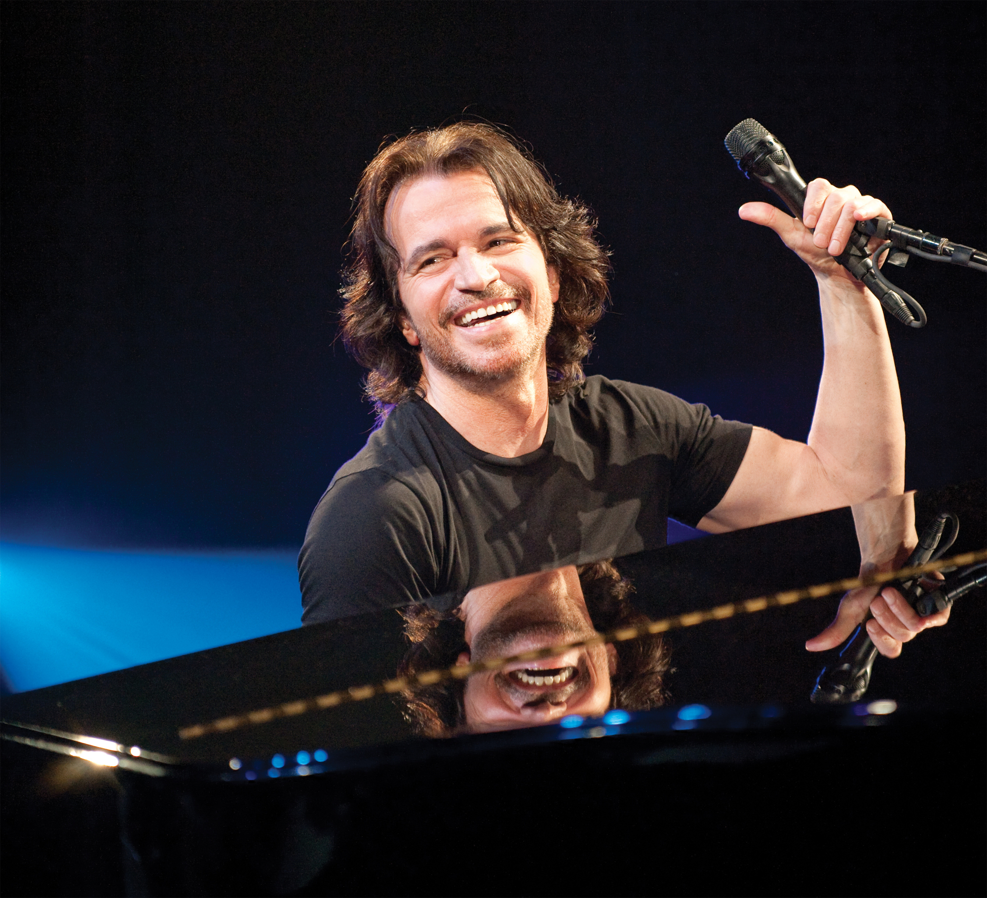 Yanni celebrates 25th anniversary of Live at the Acropolis at Kirby Center in Wilkes Barre on July 31