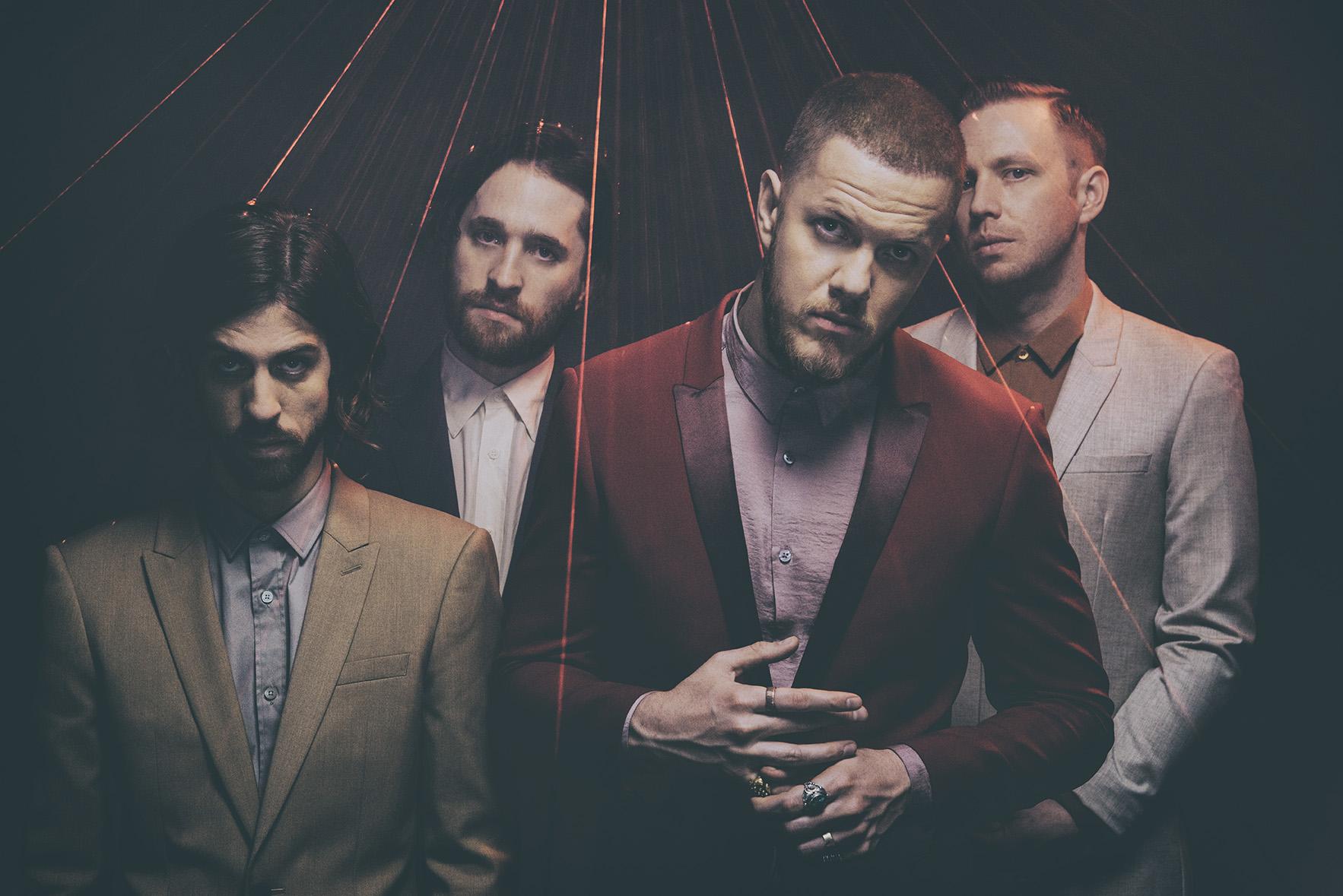 Chart topping rockers Imagine Dragons Evolve at Hersheypark Stadium on June 16