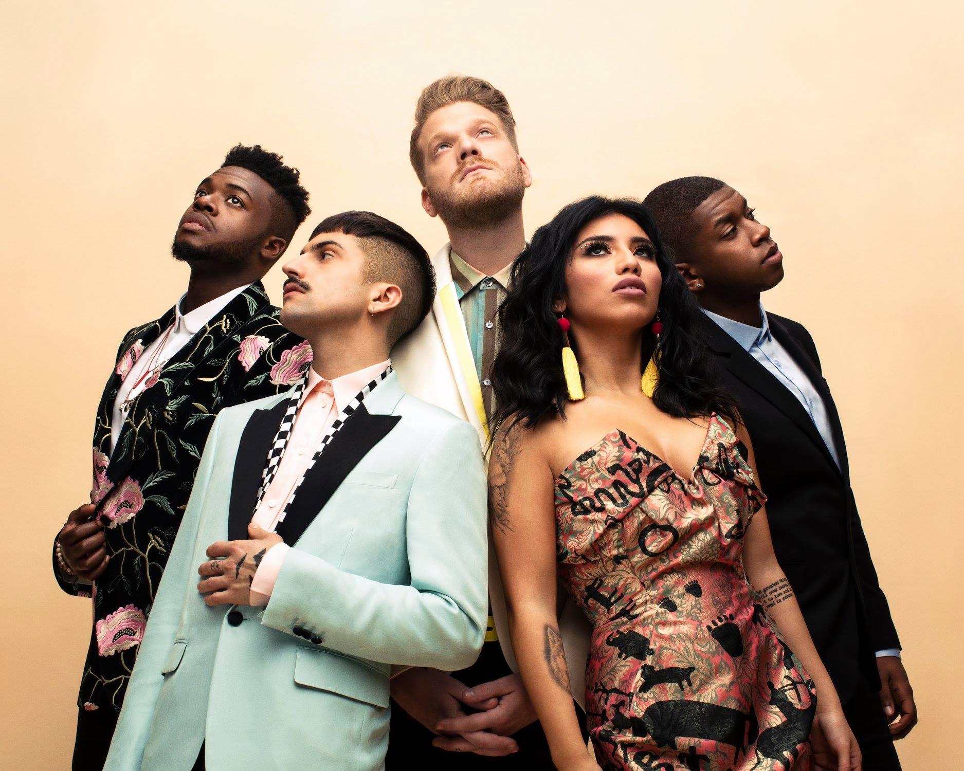 Grammy-winning a cappella group Pentatonix sings at Pavilion at ...