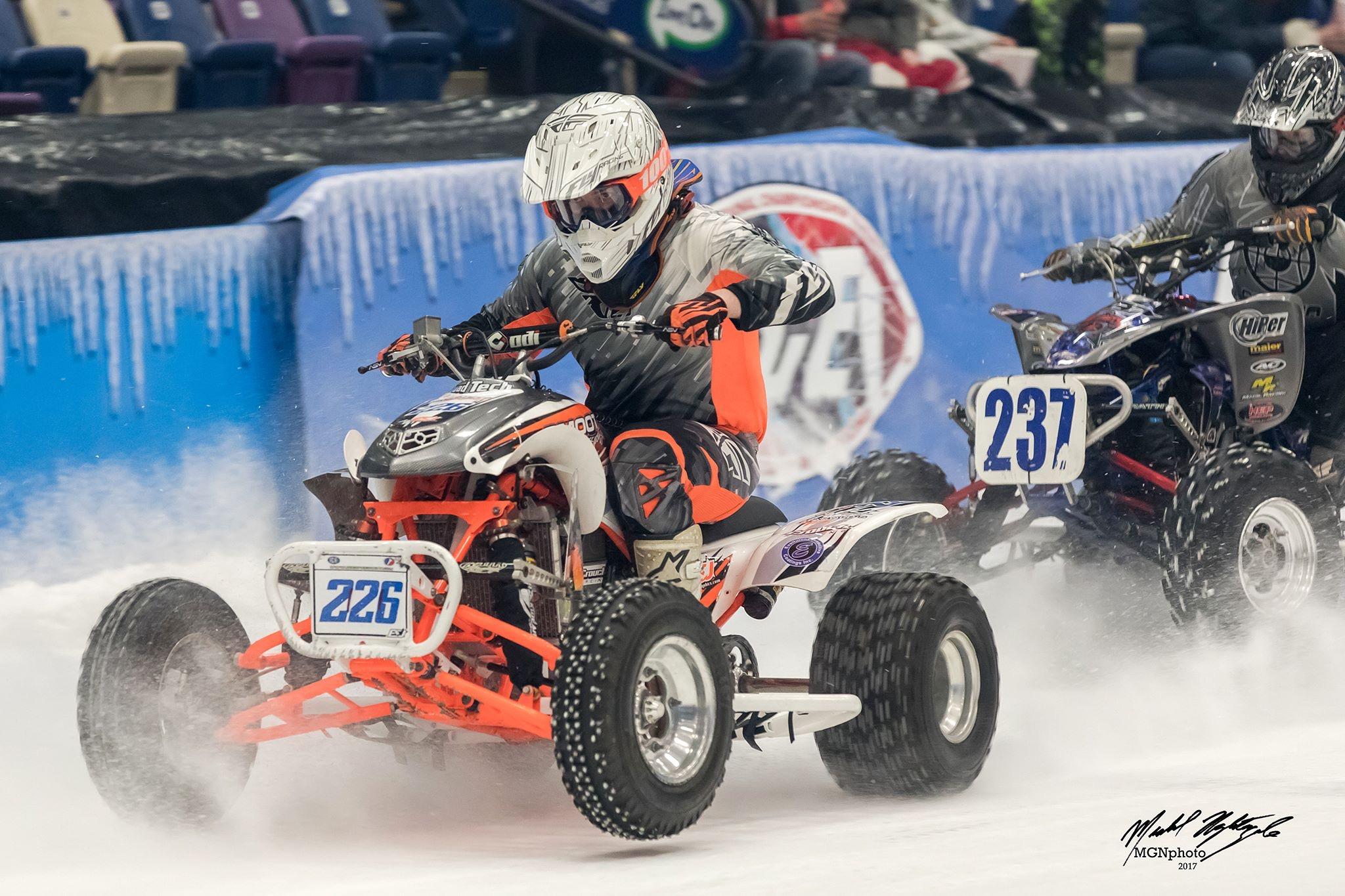World Championship Ice Racing returns to Mohegan Sun Arena in Wilkes Barre on Jan 25