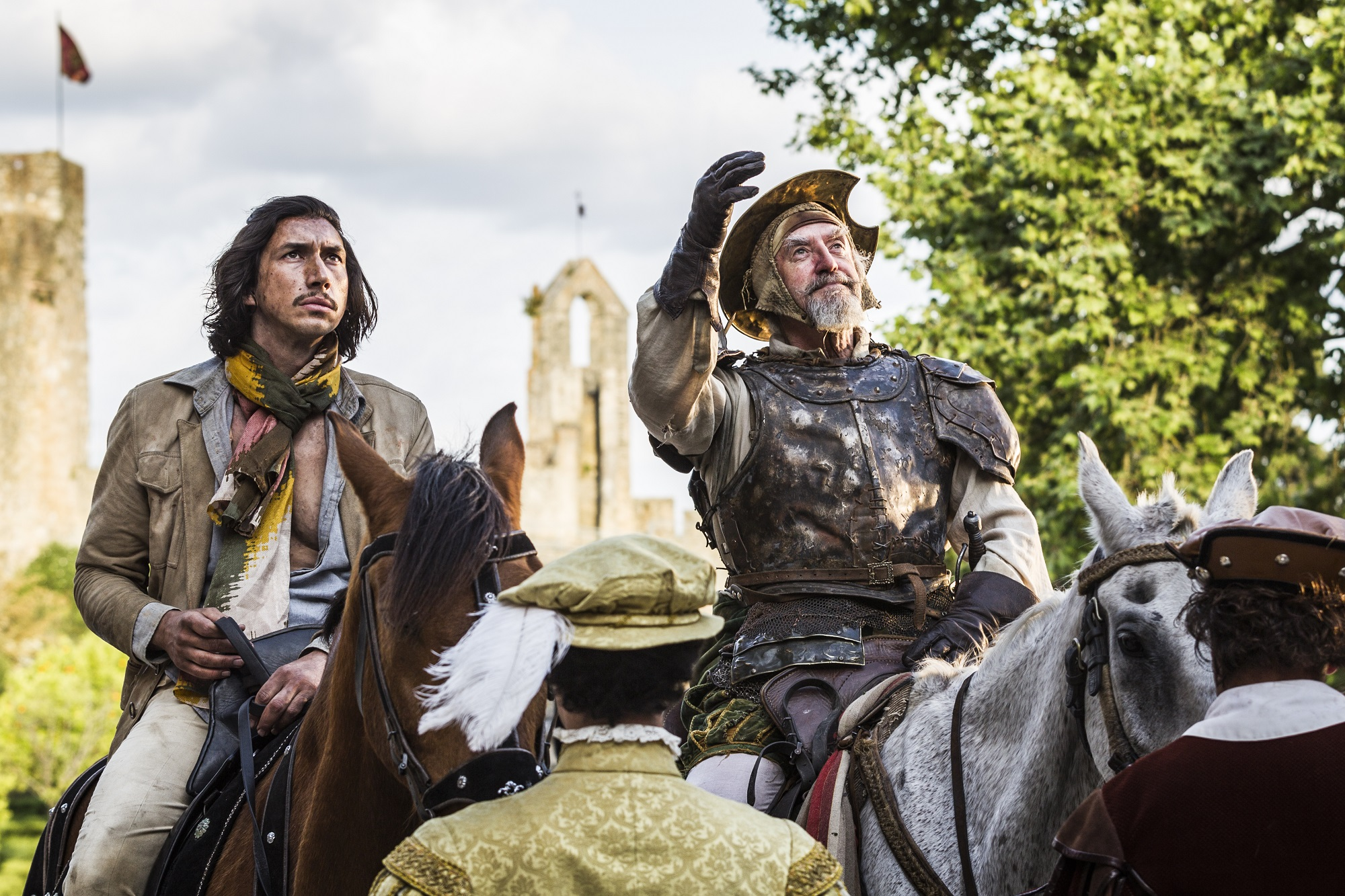 Terry Gilliam's long-awaited 'Don Quixote' film screens in