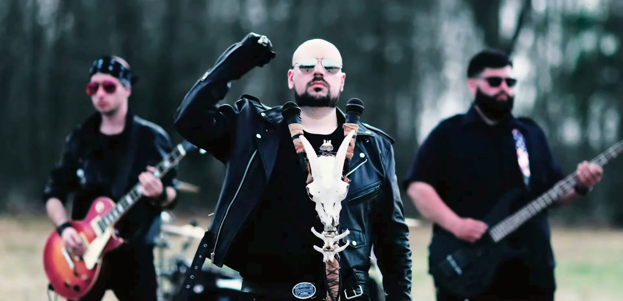 VIDEO PREMIERE: Exeter heavy metal band Royal Hell summons a